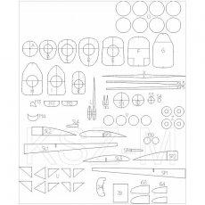 Szkielet do Jak-1 - WAK 7/05