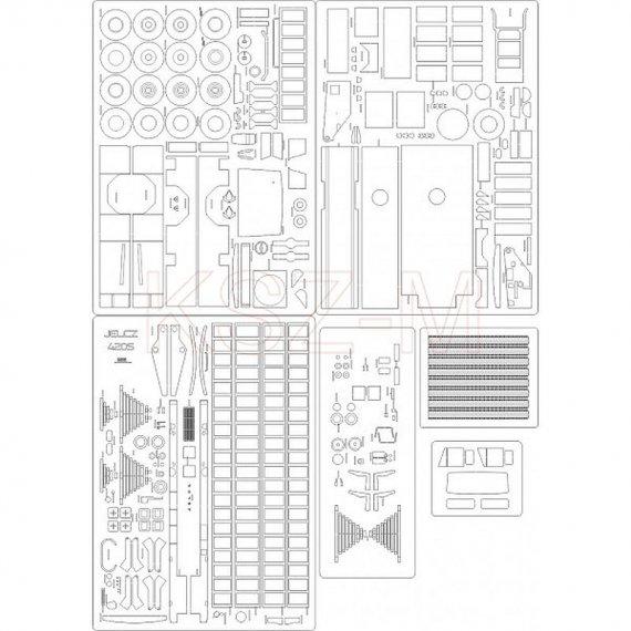 Laser do straż pożarna Jelcz 420S - Angraf 120