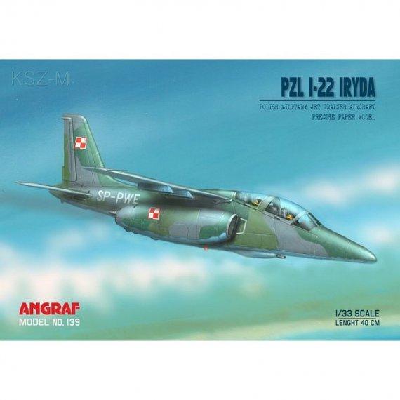 Angraf 139 - Samolot PZL I-22 Iryda SP-PWE