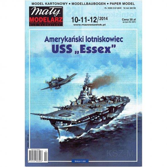 Mały Modelarz 10-12/14 - USS Essex