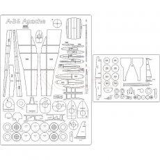 Szkielet do A-36 Apache - MPModel 48