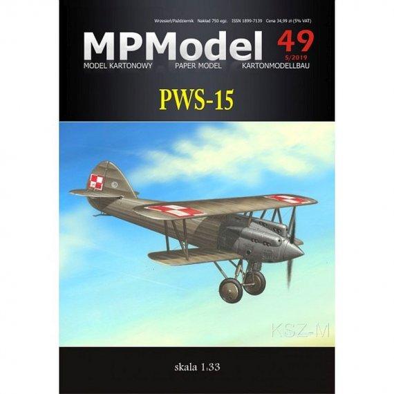MPModel 49 - Samolot PWS-15