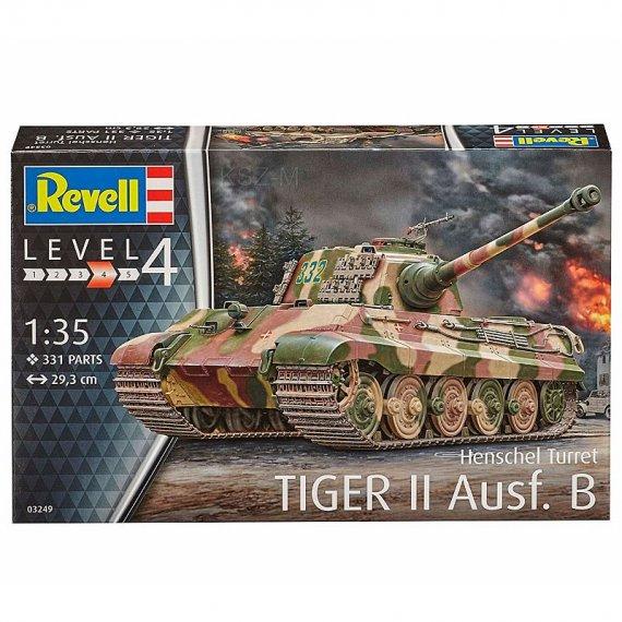 REVELL 03249 Tiger II Ausf.B Henschel Turret