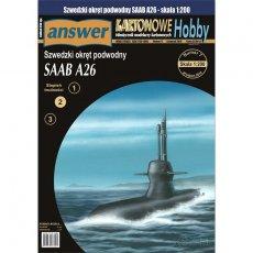 Answer 3/19 Szwedzki okręt podwodny Saab A26