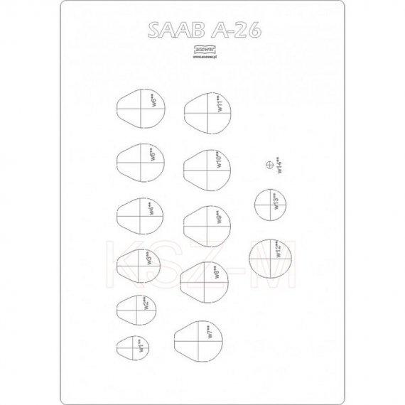 Szkielet do okrętu podwodnego Saab A26 - Answer 3/19