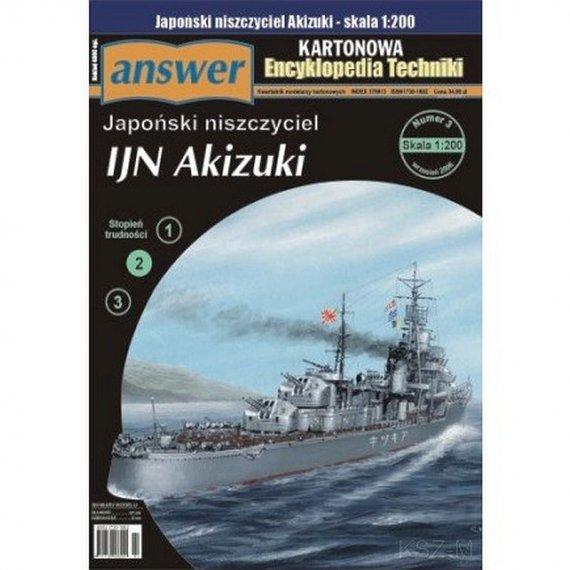 Answer 3/06 - Niszczyciel IJN Akizuki