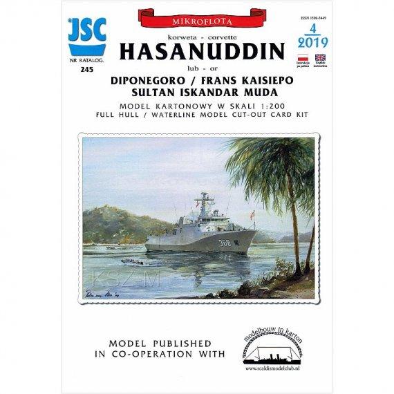 JSC-245 - Korweta Hasanuddin