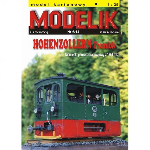 Modelik 6/14 HOHENZOLLERN Tramlok