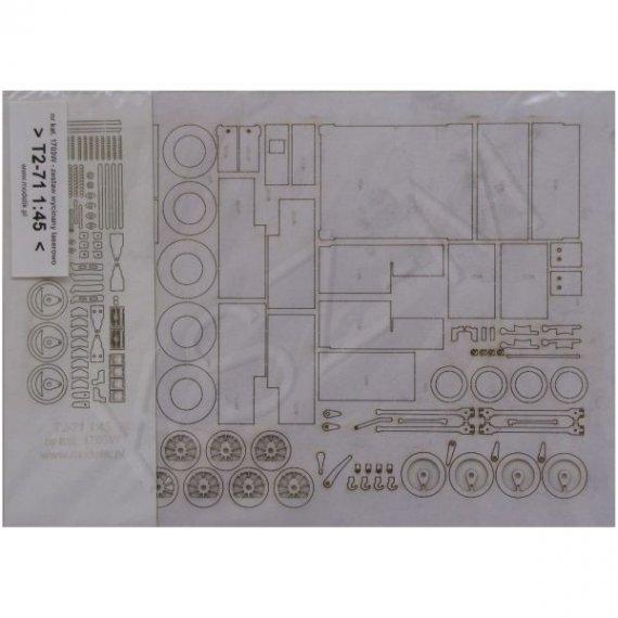 Laser do Modelik 3/17 - T2-71 Henschel Bn2t+t