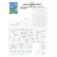 Szkielet,detale  do Hawker Typhoon Mk.IB - WAK 5/19