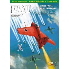 WAK 4/19 - Odrzutowce Me-163, Me-262, Meteor, Kikka