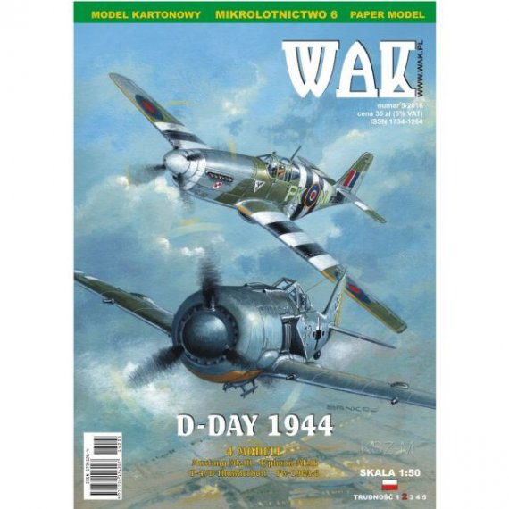 WAK 5/16 - Cztery samoloty: D-Day 1944