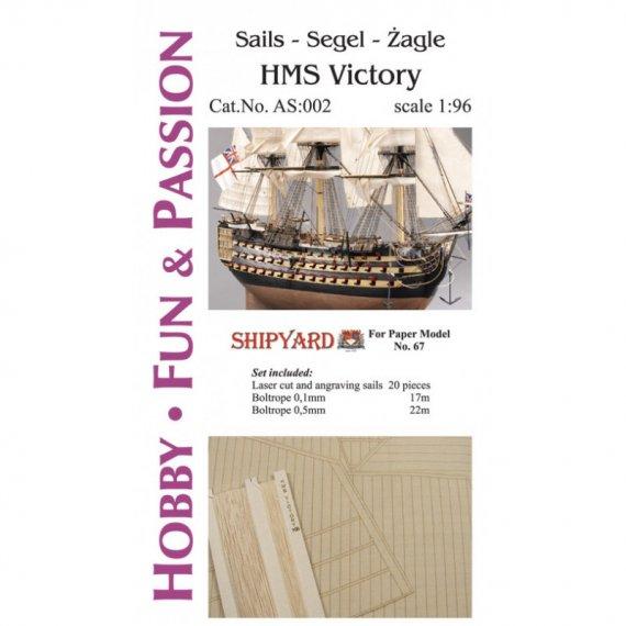 Żagle do HMS Victory - Shipyard 67
