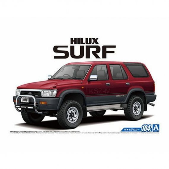 Aoshima 05698 - Toyota VZN130G HILUX SURF SSR-X