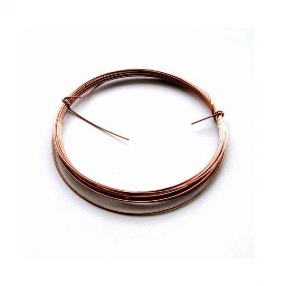 Drut stalowy miedziowany modelarski 1 mm