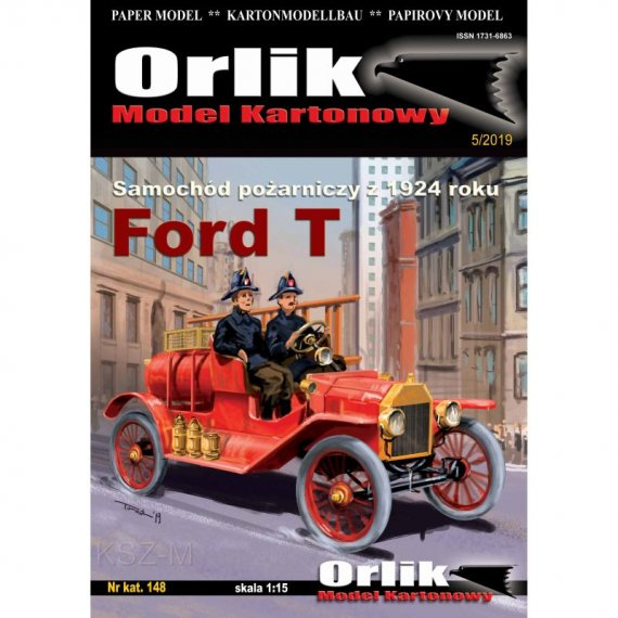 Orlik 148 - FORD T samochód pożarniczy