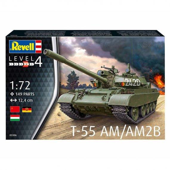 REVELL 03306 - T-55AM / T-55AM2B