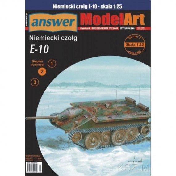 Answer 1/08 - Niemiecki czołg E-10