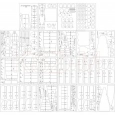 Szkielet do pancernik Yamashiro - Angraf 163