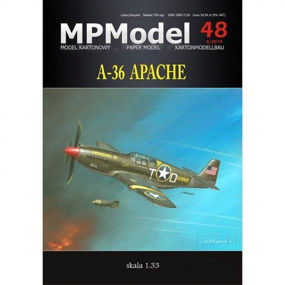 MPModel 48 - Samolot A-36 Apache