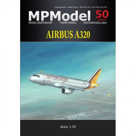 MPModel 50 - Airbus A320