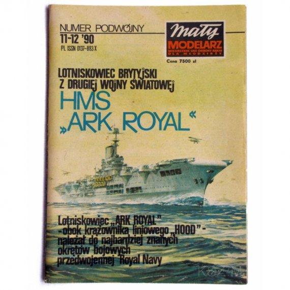 Mały Modelarz 11-12/90 Lotniskowie Ark Royal