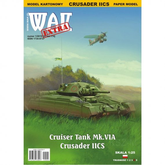 WAK 1/19 - Cruiser Tank Mk VIA Crusader II CS