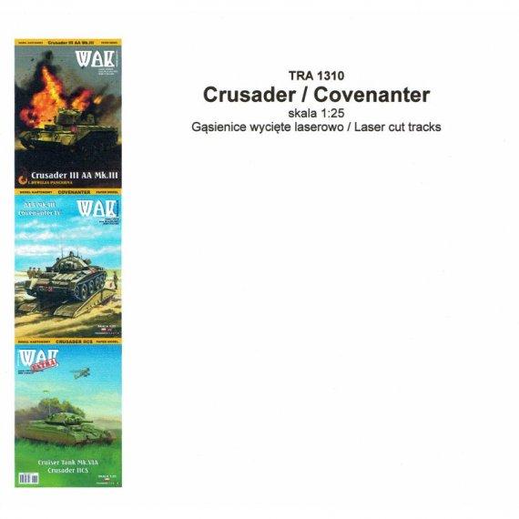 Gąsienice do czołgów Crusader / Covenanter - WAK
