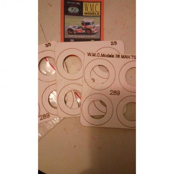Koła do MAN TGX Formula Truck 2013 - WMC Models 36