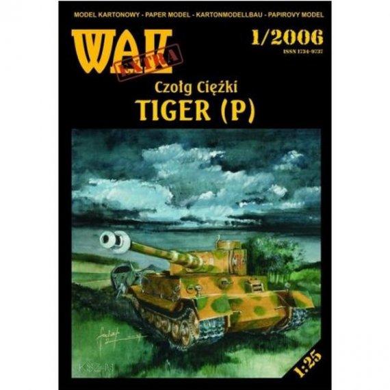 WAK 1/06 - TIGER niemiecki czołg ciężki
