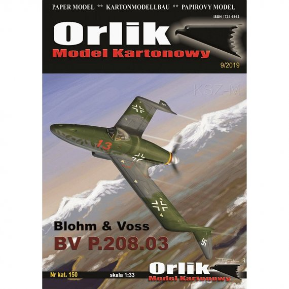 Orlik 150 - Blohm & Voss BV P.205.03