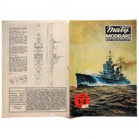 Mały Modelarz 1-2/86 - King George V