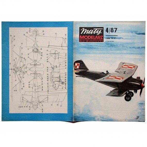 Mały Modelarz 4/87 - Breguet XIX B-2
