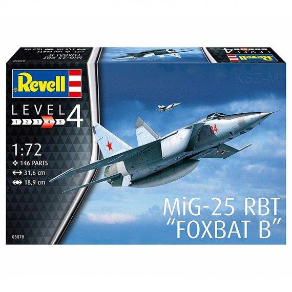 REVELL 03878 - Samolot MiG-25 RBT