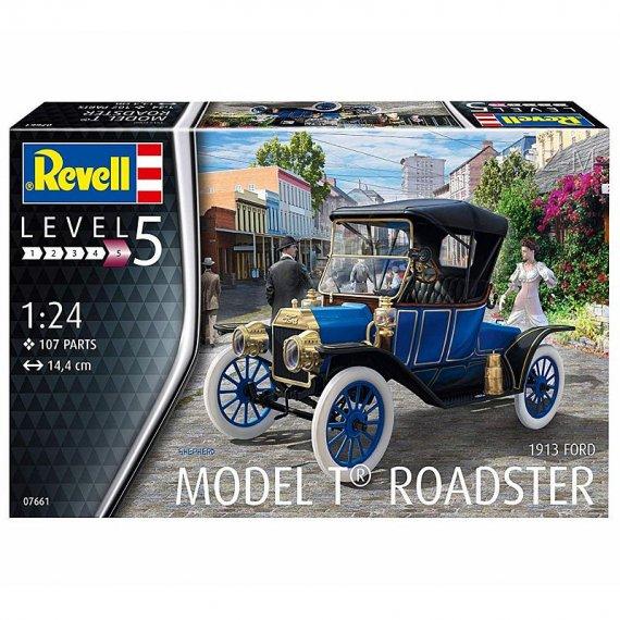 REVELL 07661 - Ford T Model Roadster 1913