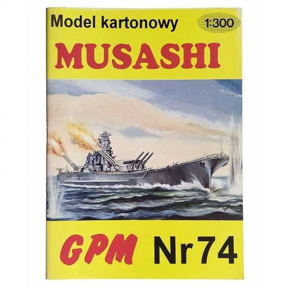GPM 74 - Japoński pancernik Musashi