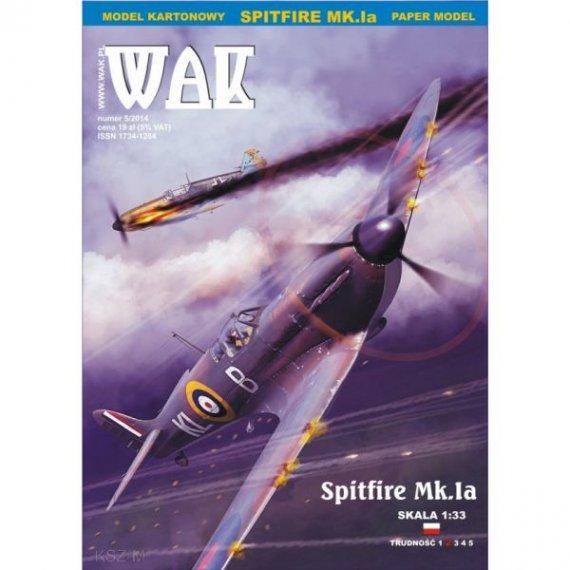 WAK 5/14 - Samolot myśliwski Spitfire Mk.Ia