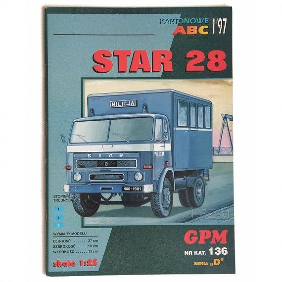 GPM 136 - Samochód Star 28