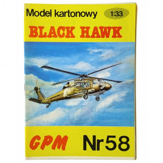 GPM 58 - Sikorsky UH-60 Black Hawk