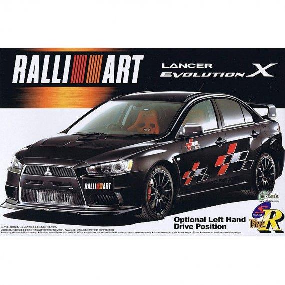 Aoshima 05544 Lancer Evolution X Ralliart Ver '07