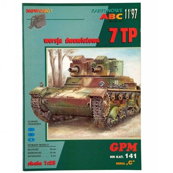 GPM 141 - Czołg 7 TP (dwuwieżowy)
