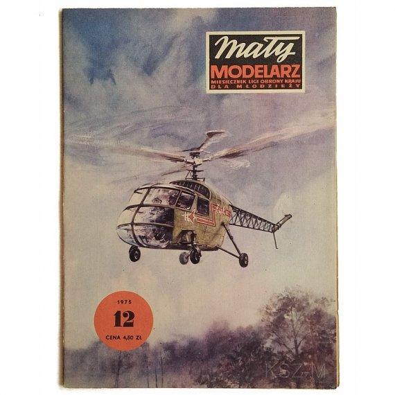 Mały Modelarz 12/75 - Śmigłowiec BŻ-4 Żuk