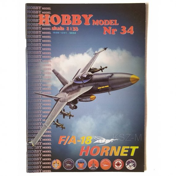 Hobby Model 34 - F/A-18 HORNET