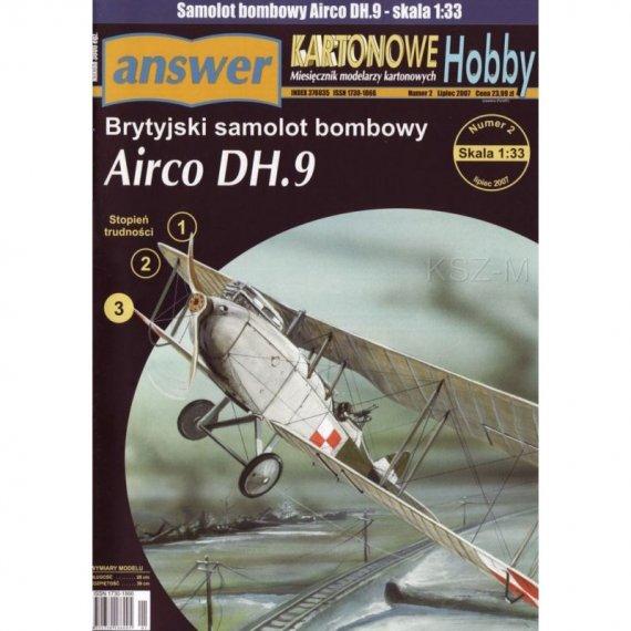 Answer 2/07 - Airco DH.9