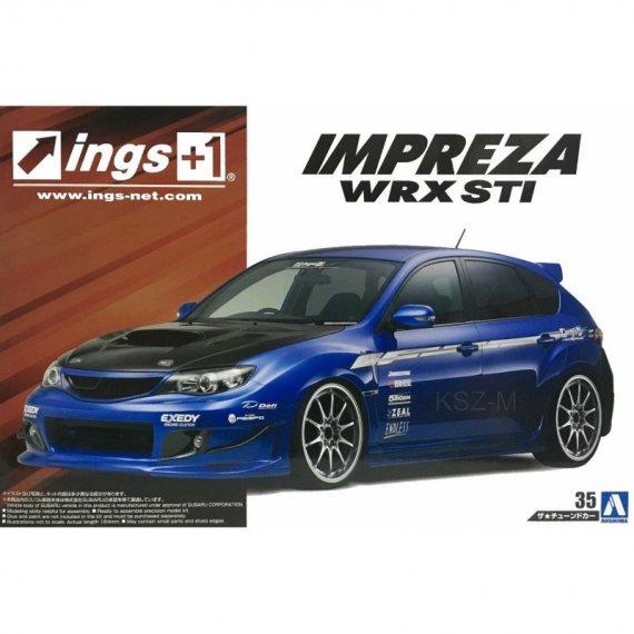 Aoshima 05423 - Subaru GRB Impreza WRX STI '07
