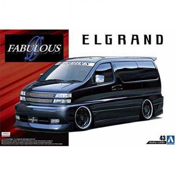 Aoshima 05452 - Nissan FABULOUS APE50 Elgrand '00