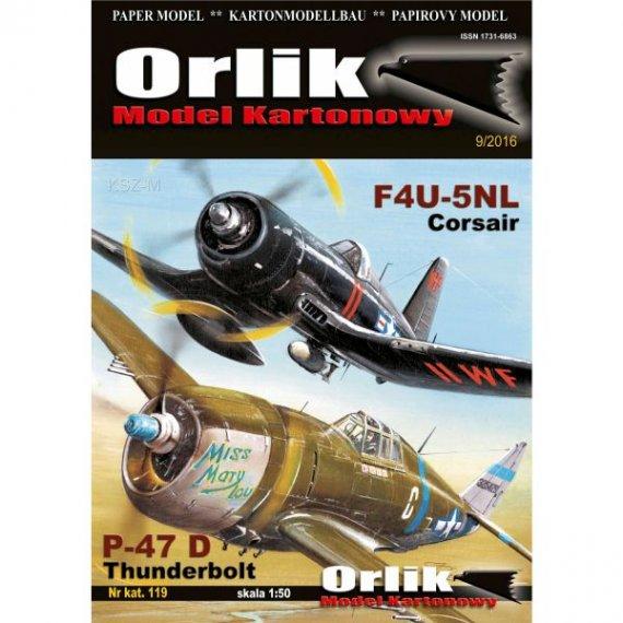 Orlik 119 - Samoloty Thunderbolt i Corsair