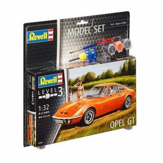 REVELL 67680 - Opel GT + farby + klej