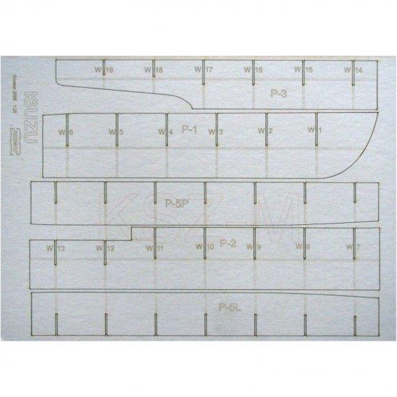Szkielet do krążownika ISUZU - Answer 2/05