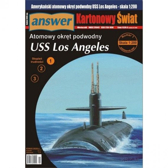 Answer 1/07 - Okręt podwodny USS Los Angeles